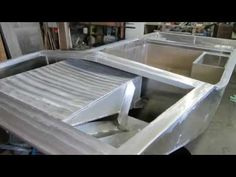 This is a time lapse slide show of a current home build project during construction of a winter ice airboat. Boat Building Plans, Boat Plans, Building A House, Buy A Boat, Cabin Cruiser, Build Your Own Boat, Small Boats, Construction, How To Plan