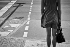 going to by Enrico Markus Essl on Street Photography, White Photography