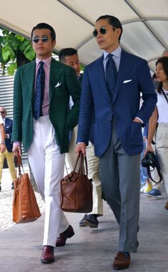 Jo of Bn tailor at Pitti 88 - bespoke with elegance! Awesome!