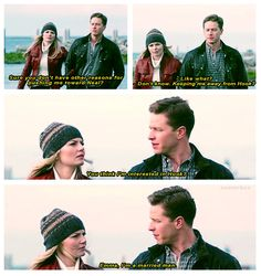 """Emma, I'm a married man"" 