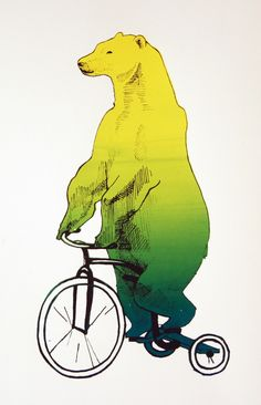 Tricycle Bear by ~maows on deviantART