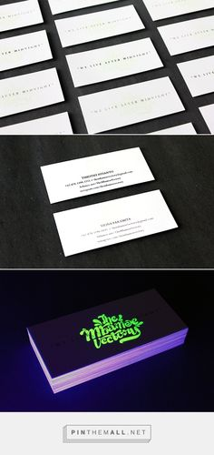 Glow in the dark business card the ephemera network glow in the glow in the dark business card the ephemera network glow in the dark business cards pinterest business cards colourmoves