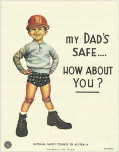 Between 1970 and the National Safety Council of Australia, non-government, not-for-profit, membership based occupational health and safety service provider, created these wonderful posters Health And Safety Poster, Safety Posters, Workplace Accident, Workplace Safety, Fitness Logo, Data Science, First Aid Poster, Safety Slogans, Safety Quotes