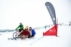 The Mophie Mountain Bikes on Snow took place up Coronet Peak #Queenstown #Winterstartshere #NewZealand #mustdo