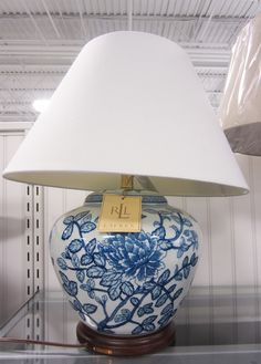 ralph lauren lamp at TJ Maxx