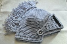 Helmet hat for a knight by Julianna7622 on Etsy