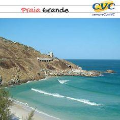 Praia Grande é ideal para prática do surf e outros esportes, devido o seu mar com ondas fortes. Recebe as festividades de ano novo e grandes eventos na cidade durante o ano. É local de encontro dos jovens.