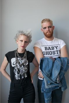 Couples Costume for Halloween: Punk Rockers | Say Yes to Hoboken