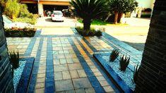 Pretoria, Beautiful Gardens, Garden Design, Landscaping, Sidewalk, Side Walkway, Yard Landscaping, Walkway, Landscape Designs