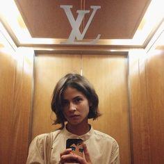 Model Off Duty // Alba Galocha | Jane Wayne News