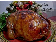 Chicken Relleno {Stuffed Deboned Chicken} ~ Pinoy Kitchenette