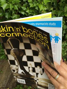 New issue of Skin 'n' Bone Connection (43) out now. Can be ordered from www.papaa.info