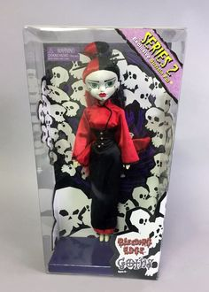 Begoths SuziSin Ful - RED exclusive 12 inch doll #BeGoths #DollswithClothingAccessories