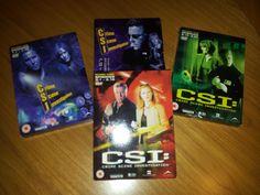 CSI: CRIME SCENE INVESTIGATION LAS VEGAS DVD BOX SETS BUNDLE JOB LOT SEASONS