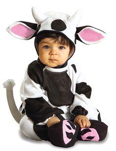 Kuh Baby-Kostüm Strampler schwarz-weiss-rosa. Aus der Kategorie Baby Karnevalskostüme. Eine kleine, süße Kuh, die jedes Herz im Nu erobert. Mit diesem Faschingskostüm für Kinder verzaubert Ihr Liebling die Welt.