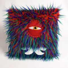 Cyclops Monster Pillow by bearmojo on Etsy, $35.00