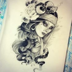 Sick design by Adrian Hing TattooStage.com - Ratings and reviews for tattoo artists and studios. #tattoo #tattoos #ink