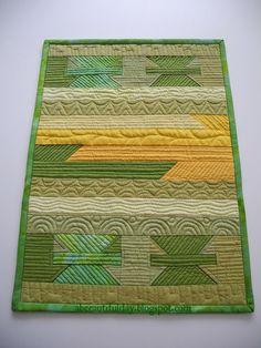 A beautiful day - O zi frumoasa: patchwork