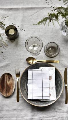 Schönes Tisch Set-up