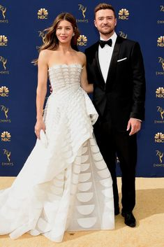 The Cutest Celebrity Couples at the 2018 Emmy Awards The Cutest Celebrity Couples at the 2018 Emmy Awards,Couples Jessica Biel and husband Justin Timberlake – The Cutest Celebrity Couples at the 2018 Emmy. Cute Celebrities, Celebs, Cute Celebrity Couples, Celebrity Weddings, Celebrity Red Carpet, Celebrity Houses, Celebrity Style, Oscar Dresses, Jessica Biel