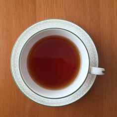 Doesn't take much to make me ! Happy Saturday Morning Cuppa! #tea #blacktea #eastfrisiantea #hamptoncourt #elizabethan #shabbattea #teainfusiast by teainfusiast