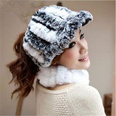 Warm Rabbit Hair Women's Visor : Cheap Online Sale - HatSells.com