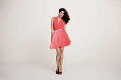 Daalarna Couture coctail dress - White collection