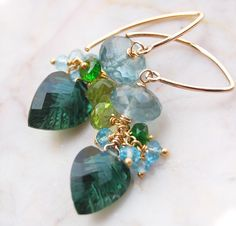 The Isles of Shoals earrings ~ by Modeste Parisienne, via Flickr