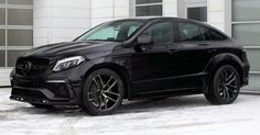 TopCar Mercedes GLE 350d Coupe Costs As Much As A Stock AMG 63 S #Diesel #Mercedes