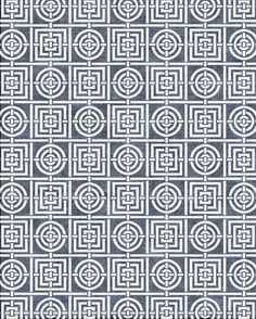 Circles & Squares by Florence Broadhurst from Cadrys Contemporary