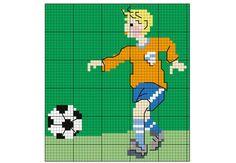 Une grille pour les fans de footVotre enfant est dingue du ballon rond ? Brodez sur ses affaires et son équipement des joueurs de foot. Il sera ravi. Découvrez nos grilles à téléchargergratuitement autour du thème du foot.