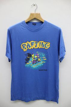 Vintage MONT BELL Rafting Tee T Shirt