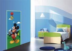 Micky Maus Fototapete - Türposter. Disney lizenzware.