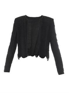 Fringe long-sleeved jacket | Galvan | MATCHESFASHION.COM