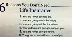 But just in case you do need life insurance!!!  I can help.  Dan at Safari Financial.  731-217-1731