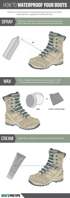 ProTips: How to waterproof your boots.