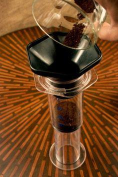 Aeropress brewing upside down :) Coffee Talk, Coffee Love, Aeropress Coffee, Coffee Uses, Coffee Roasting, Seafood Dishes, Coffee Beans, Brewing, Coffee Maker