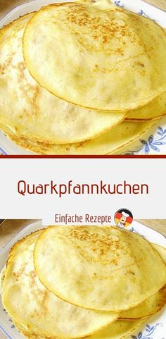 crepes-au-lait-caille-entorses-crepes-quark-entorses-pfann/ - The world's most private search engine Apple Recipes, Low Carb Recipes, Law Carb, Cream Cheese Pancakes, Ground Turkey Recipes, Easy Cooking, Finger Foods, Food Videos, Kids Meals