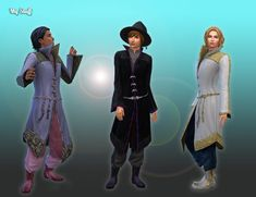 TS4 MEDIEVAL CC — zurkdesign: TS2 Witch Outfit Download For the...