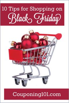 10 Tips for Shopping on Black Friday - Be sure to read these tips before you head out shopping!