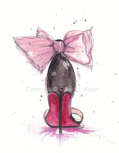 The Pink Bow Louboutin
