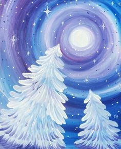 We host painting events at local bars. Come join us for a Paint Nite Party! We host painting events at local bars. Come join us for a Paint Nite Party! Night Painting, Winter Art Projects, Abstract Art Painting, Christmas Paintings, Christmas Art, Art Painting, Art, Painting Crafts, Canvas Art