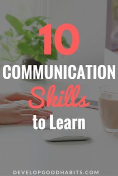Learning new things including useful Communication skills and other best skills to learn for jobs. Improve Communication Skills, Effective Communication, Clear Communication, Learning Websites, Educational Websites, Skills To Learn, Life Skills, Coping Skills, Self Improvement Tips