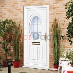 Image of Exterior PVC Doon Georgian Bar Front Door