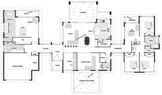 Houses layouts floor plans image from post house layout plan with dream design also floor plans . Best House Plans, Dream House Plans, Modern House Plans, House Floor Plans, House Layout Plans, House Layouts, Home Design Floor Plans, Plan Design, Autocad