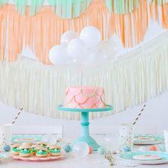 'Party like a Pineapple' Party Ideas + FREE printables Barbie Birthday, Mermaid Birthday, Birthday Bash, First Birthday Parties, Birthday Party Themes, Girl Birthday, Birthday Cakes, Birthday Ideas, Colorful Birthday Party