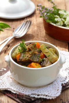 Vegetable ratatouille in a cooking bag - cOOking TiKi