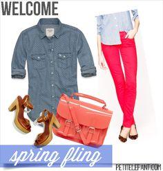 #Spring #fashion for the ladies via @petit_elefant #style