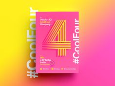 CoolFour | Dribbble Invite Giveaway