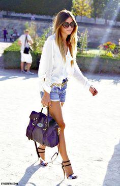 Style tracker — Street style -Mulberry Alexa bag